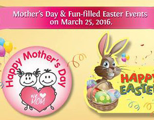 Mothers' Day and Easter