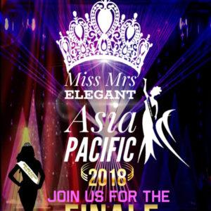Miss Elegant Asia Pacific 2018